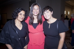 Punita Bhardwaj, Alice Te and Denise Hammond