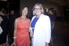 Barbara Burkett and Andrea Horwath