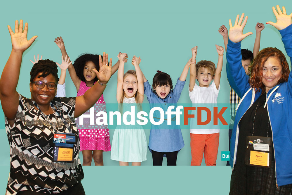 Photobooth photo: #HandsoffFDK