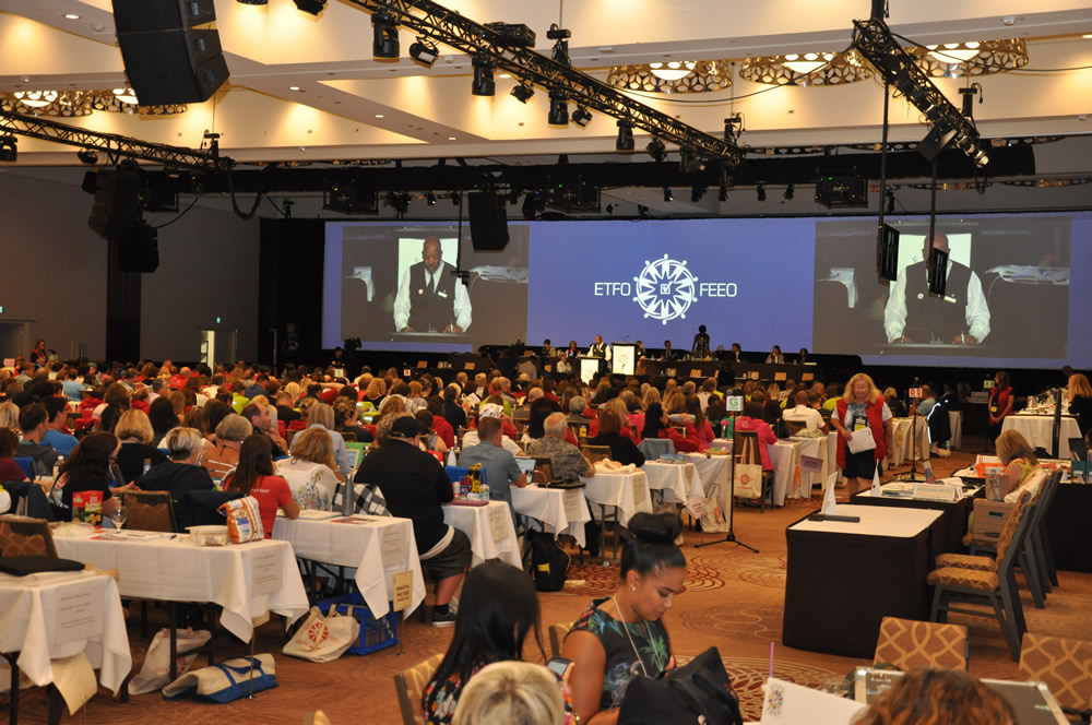 Delegates at Annual Meeting 2019