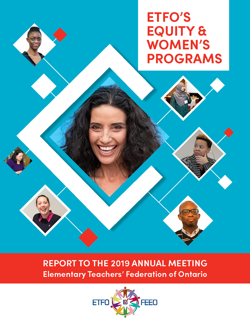 Cover: Report to Annual Meeting - Equity and Women's Programs