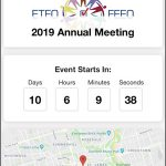 Screen Capture: ETFO EventsApp
